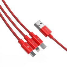 3-In-1 Universal USB Phone Charging Cable