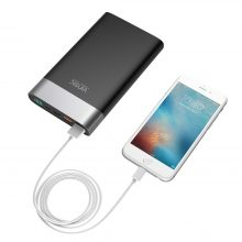 Quick Charge 2.4A Dual Output with Type C Port Power Bank for Mobile Phone