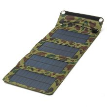 USB Foldable Solar Power Bank Charger